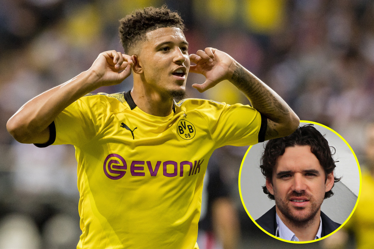 Photo of 'Priceless' Jadon Sancho is sort of a younger Neymar and would stroll into Liverpool's beginning XI, claims Owen Hargreaves