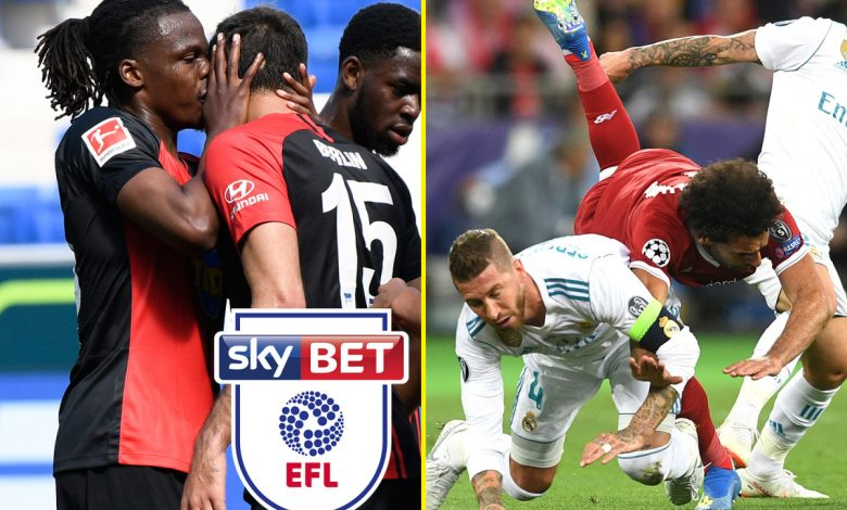 Football news LIVE: Boyata KISSES teammate in coronavirus rule breach, radical EFL restructure, Sergio Ramos lauded for 'masterstroke' Mohamed Salah tackle