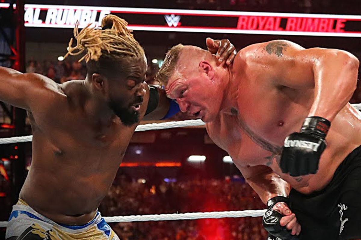 Photo of Kofi Kingston says Brock Lesnar doesn't get credit score for his wrestling thoughts and wished to 'write the top' of his title reign in another way