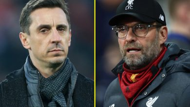 Photo of Liverpool supervisor Jurgen Klopp says Gary Neville has opinion on 'completely every little thing' and ex-Manchester United defender sees humorous aspect