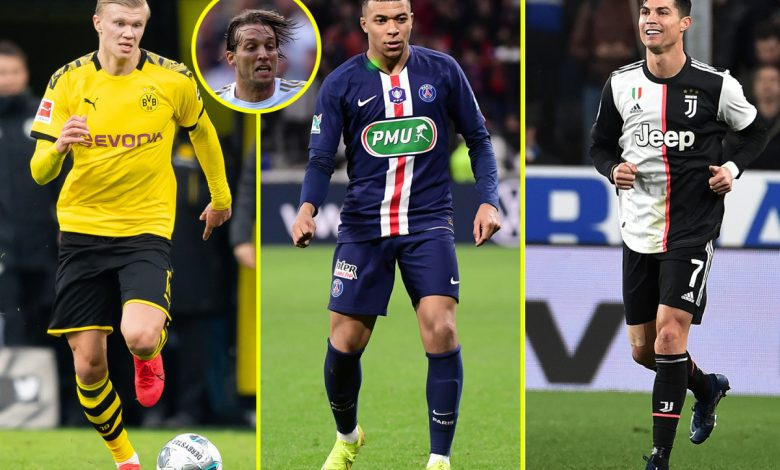 Mbappe loved Ronaldo, Kai Havertz eyes Ozil throne, De Jong at Barcelona with hero Messi and Sancho idolised Lampard – wonderkids and their childhood idols