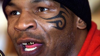 Photo of The story behind Mike Tyson's notorious face tattoo with heavyweight legend initially wanting hearts