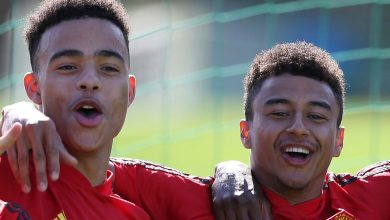 Photo of 'I don't know what foot he's' – Jesse Lingard hails Manchester United prodigy Mason Greenwood's ambidextrous expertise