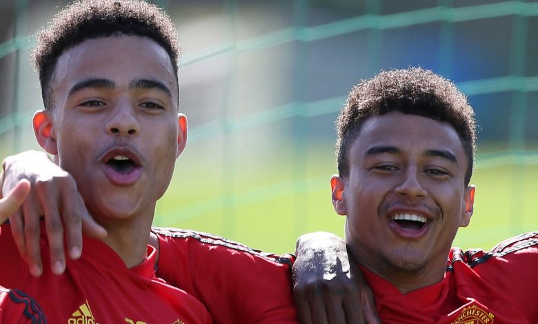 'I don't know what foot he is' – Jesse Lingard hails Manchester United prodigy Mason Greenwood's ambidextrous talent