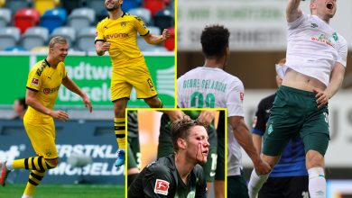 Photo of Bundesliga outcomes: Bayern Munich take step nearer to title, Erling Haaland scores late winner for Borussia Dortmund, Werder Bremen thrash relegation rivals