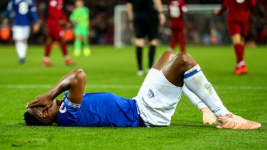 Photo of Everton damage woes mount earlier than 'Challenge Restart' as Yerry Mina joins Jean-Philippe Gbamin on the damage checklist
