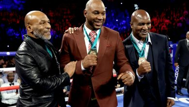 Photo of Mike Tyson, Lennox Lewis, Riddick Bowe – The three legends Evander Holyfield has named as doable opponents for return to boxing