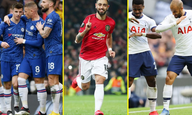 Premier League top four race: Chelsea, Leicester and Manchester United battling for Champions League spot, but can Sheffield United and Wolves upset the odds?
