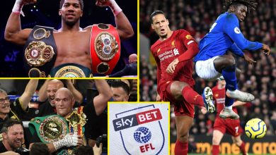 Photo of Sports activities information and gossip LIVE: Anthony Joshua and Tyson Fury agree phrases on two-fight deal, Everton vs Liverpool confirmed for Goodison Park