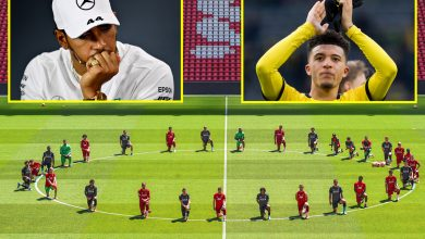 Photo of Sports activities information and gossip LIVE: Grealish raring for Premier League to return, FA unlikely to sanction stars for protests, Lewis Hamilton 'overcome with rage'