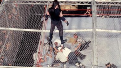 Photo of The best WWE Hell in a Cell match of all-time noticed The Undertaker throw Mankind off the highest – and he thought he was useless