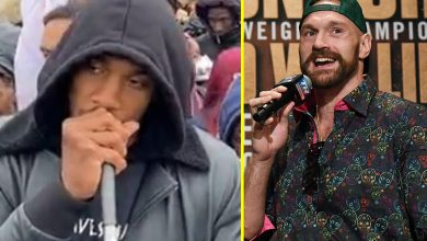 Photo of Tyson Fury reacts to Anthony Joshua's Black Lives Matter protest speech: 'If it'd been me, I'd have been crucified like Jesus'