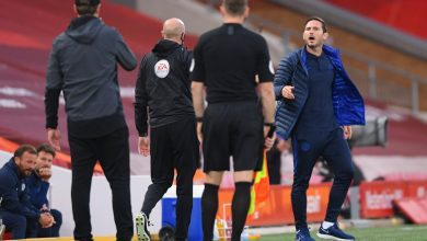 Photo of 'One title and also you're giving it the massive un!' – Footage reveals Chelsea boss Frank Lampard telling Liverpool bench to 'f*** off' in touchline row at Anfield