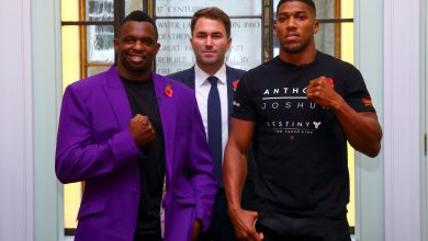 Photo of Anthony Joshua claims Dillian Whyte 'bottled it' from rematch as rivalry reignites between heavyweights