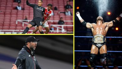 Photo of Arsenal vs Liverpool was actually weird – Van Dijk and Alisson drop clangers, Triple H's music blared out and the Reds look nearly common