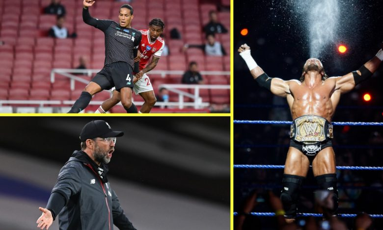 Arsenal vs Liverpool was truly bizarre – Van Dijk and Alisson drop clangers, Triple H's music blared out and the Reds look almost average