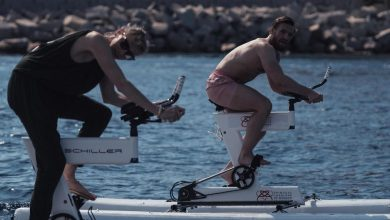 Photo of Conor McGregor races water bikes with Princess Charlene of Monaco forward of 180km problem and poses with 6ft 8in South Africa rugby star