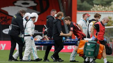 Photo of Eddie Howe provides replace on Adam Smith after Bournemouth defender was stretchered off with head harm in opposition to Tottenham
