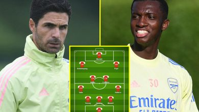 Photo of Eddie Nketiah and Nicolas Pepe to start out – How Arsenal and Norwich ought to line up for enormous Premier League conflict