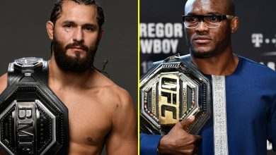 Photo of Jorge Masvidal set to struggle Kamaru Usman at UFC 251 as Dana White replaces Gilbert Burns for Combat Island showpiece