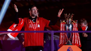 Photo of Jurgen Klopp makes promise to Liverpool followers to have fun Premier League title win 'when the bull**** virus is gone'
