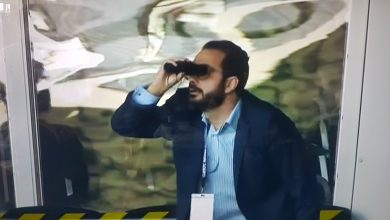 Photo of Leeds director of soccer Victor Orta mocks Derby 'Spygate' with binoculars celebration after win at Satisfaction Park