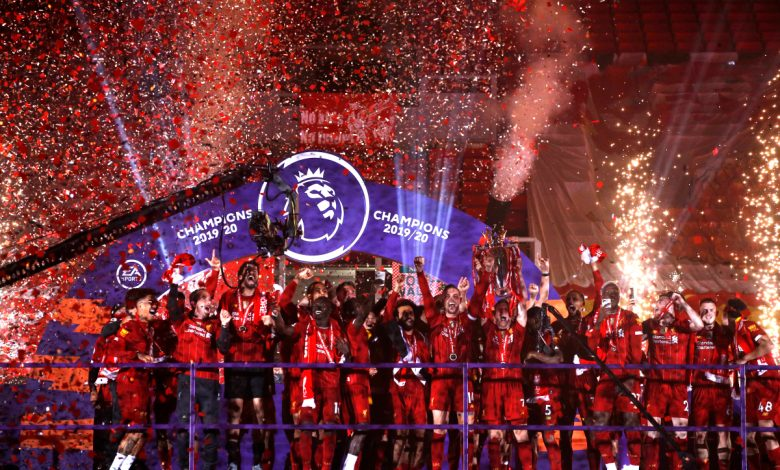 Liverpool trophy lift LIVE: Reds celebrate Premier League glory with stunning firework display