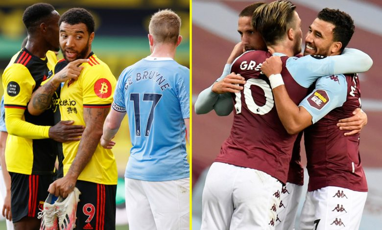Man City match Premier League record during thrashing of Watford – and it's why Aston Villa have climbed above Hornets