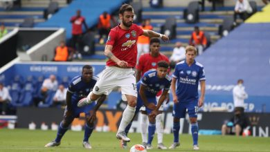 Photo of Manchester United set new report for penalties as Bruno Fernandes scores from spot in win at Leicester
