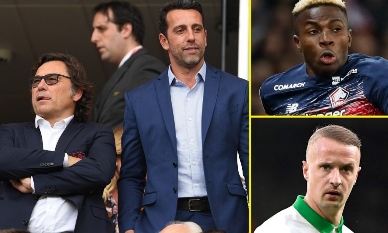 Premier League and sports news LIVE: Tony Adams blasts Edu, Sanllehi and Arsenal's recruitment, Celtic boss Lennon hits out at 'overweight' Griffiths, Manchester United in signing talks
