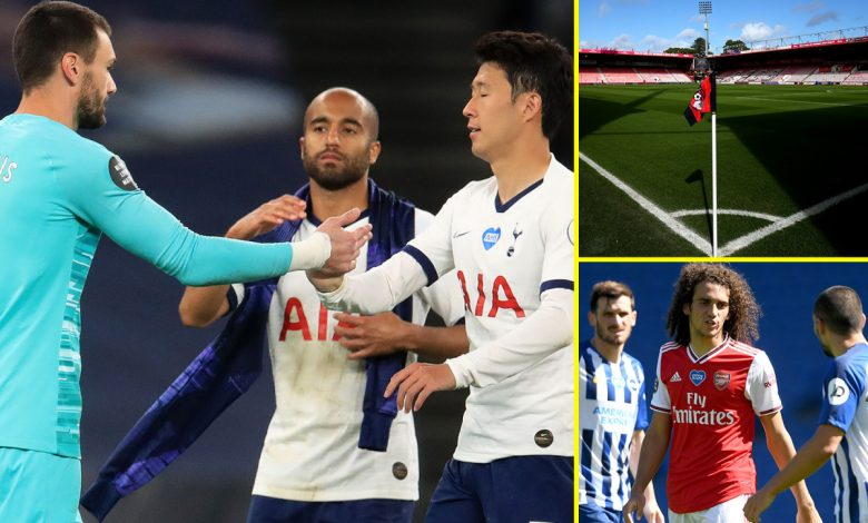 Premier League news LIVE: Mourinho praises bust-up between Tottenham stars, Guendouzi banished by Arsenal, Bournemouth plan summer cull