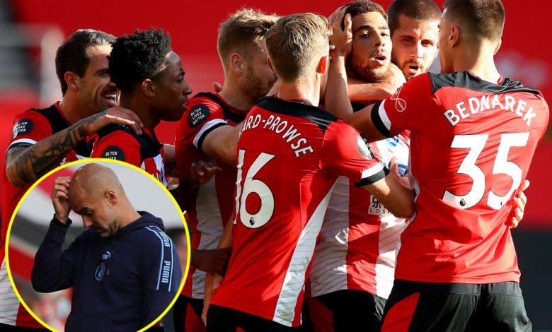 Southampton stun Manchester City as Che Adams breaks Premier League duck in sensational fashion