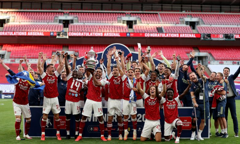 Arsenal news LIVE: Aubameyang fires Gunners to FA Cup glory, then DROPS trophy as Arteta confident striker will stay