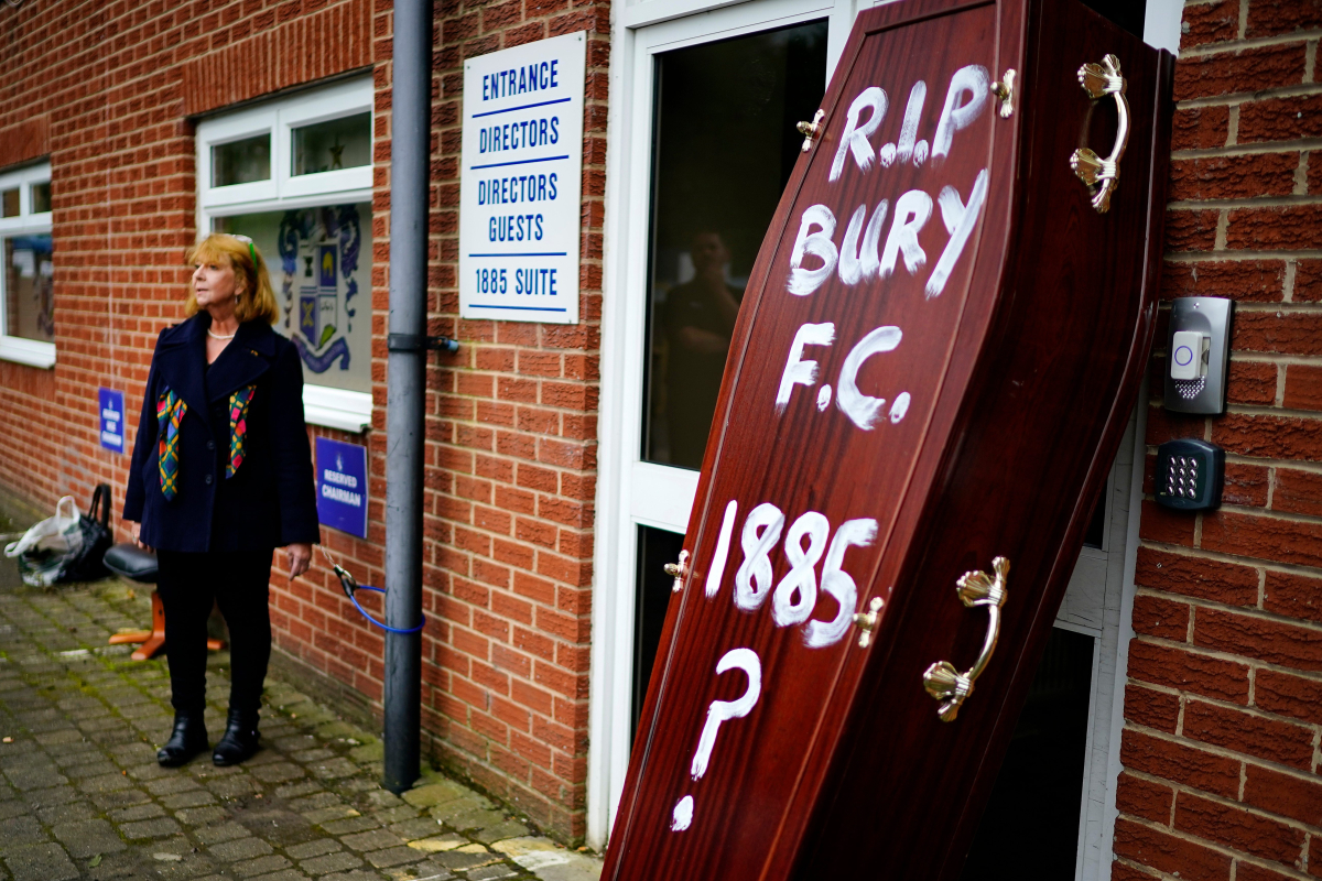Bury announce intention to reapply for National League place in bizarre statement which attacks the BBC over the Proms, quotes Voltaire and criticises licence fee decision