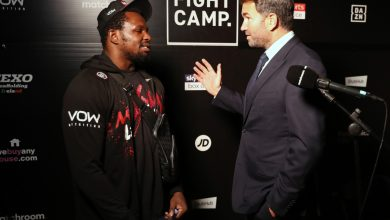 Photo of Eddie Hearn confirms Dillian Whyte vs Alexander Povetkin REMATCH as pair have first dialog after KO defeat