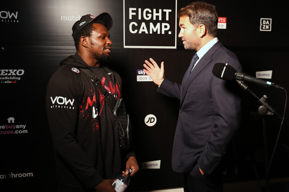 Eddie Hearn confirms Dillian Whyte vs Alexander Povetkin REMATCH as pair have first conversation after KO defeat
