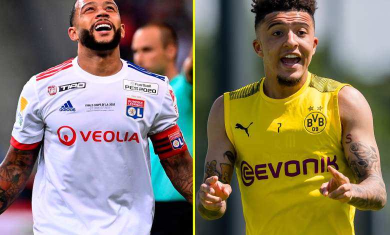 Jadon Sancho transfer latest: How Manchester United flop Memphis Depay could help Red Devils sign £100m-rated Borussia Dortmund star