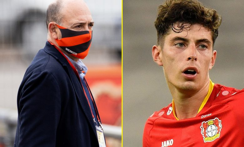 Kai Havertz future: Bayer Leverkusen chief confirms Chelsea target wants to leave the club this summer