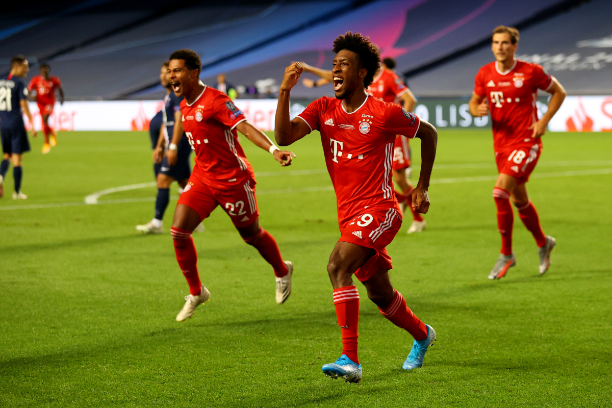 Kingsley Coman's incredible list of honours as he helps Bayern Munich win the Champions League