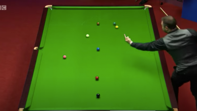 Photo of Kurt Maflin warned for swearing at cue ball throughout World Snooker Championship first spherical win over David Gilbert