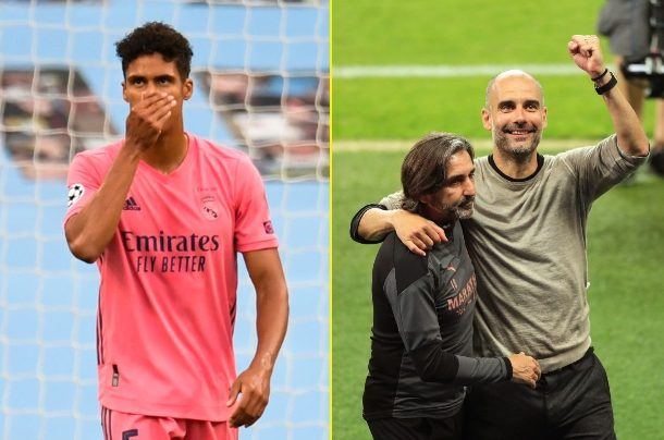 Raphael Varane accepts blame as Man City beat Real Madrid with Pep Guardiola thankful for Los Blancos errors