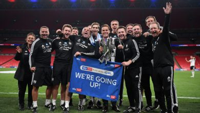 Photo of Scott Parker 'emotional' and 'proud' as Fulham seal instant return to Premier League with Championship play-off remaining win over Brentford