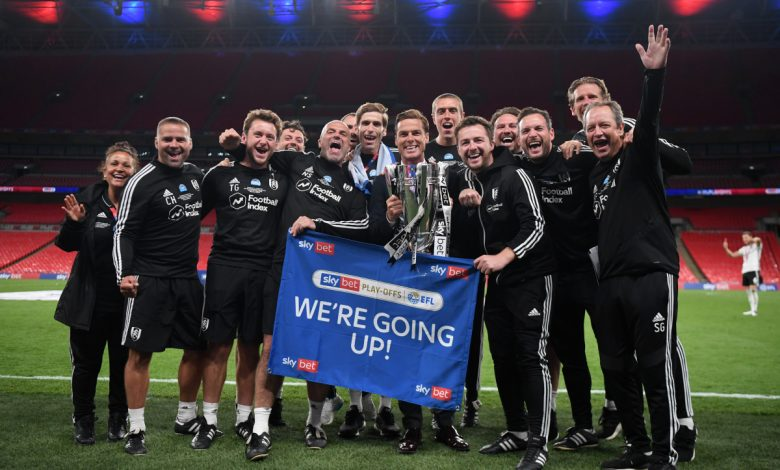 Scott Parker 'emotional' and 'proud' as Fulham seal immediate return to Premier League with Championship play-off final win over Brentford