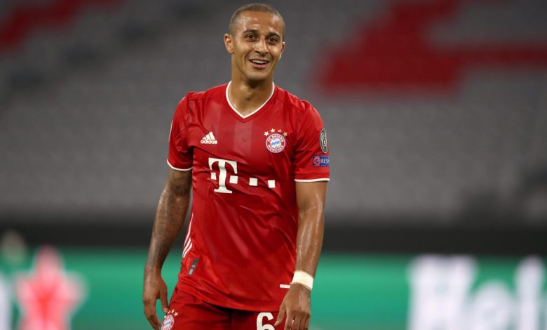 Thiago Alcantara 'keen' to join Liverpool and play for Jurgen Klopp – but Man City are 'offering more' as Pep Guardiola seeks a reunion