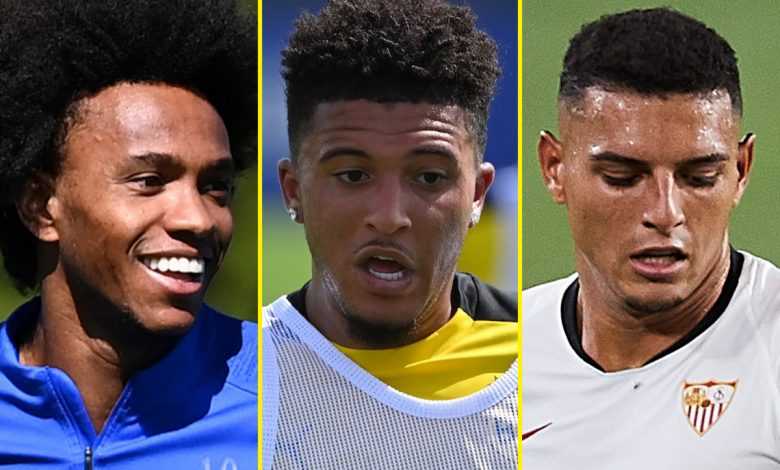 Transfer news LIVE: Manchester United at 'advanced stage' of Sancho talks, Arsenal battle Man City and Liverpool for Diego Carlos, Willian rejects ANOTHER Chelsea contract offer