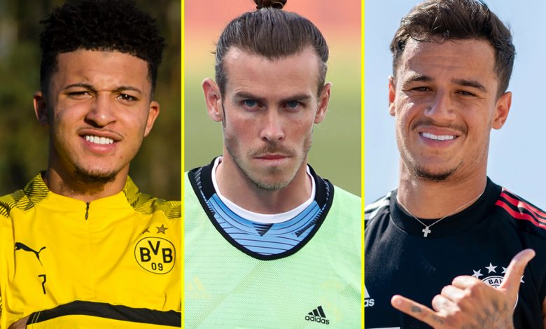 Transfer news LIVE: Real Madrid attempt to force Gareth Bale out again, Coutinho to Arsenal 'advanced', Sancho alternative being lined up by Man United