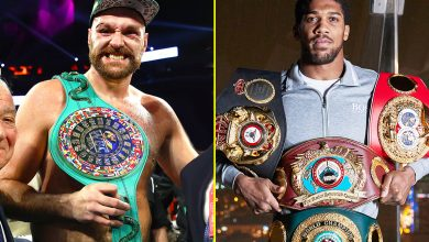 Photo of Tyson Fury calls out Anthony Joshua to 'develop a pair' and struggle him in DECEMBER, if Deontay Wilder trilogy can't occur