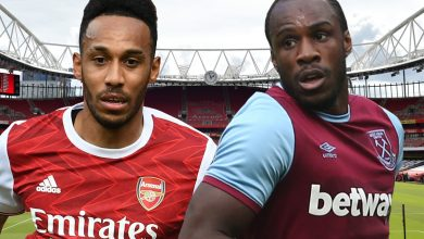 Photo of Arsenal v West Ham LIVE commentary: Antonio ranges London derby after Lacazette heads dwelling opener