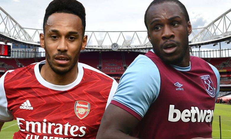 Arsenal v West Ham LIVE commentary: Antonio levels London derby after Lacazette heads home opener