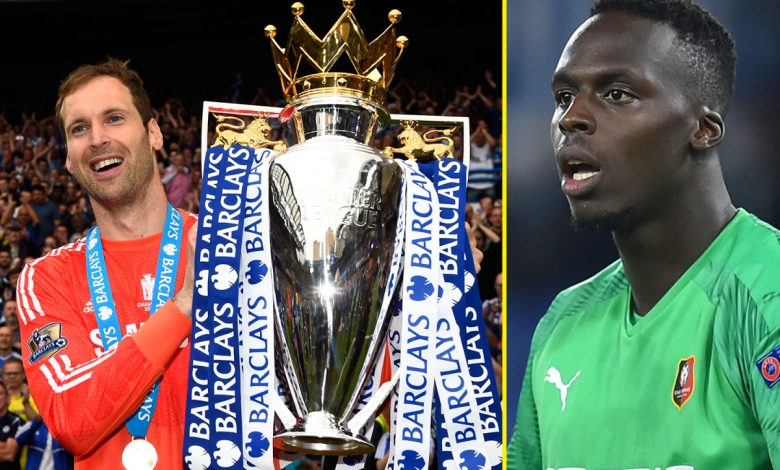 Can Edouard Mendy live up to Petr Cech? Latest Chelsea transfer was recruited by the legendary Blue who also joined from Rennes